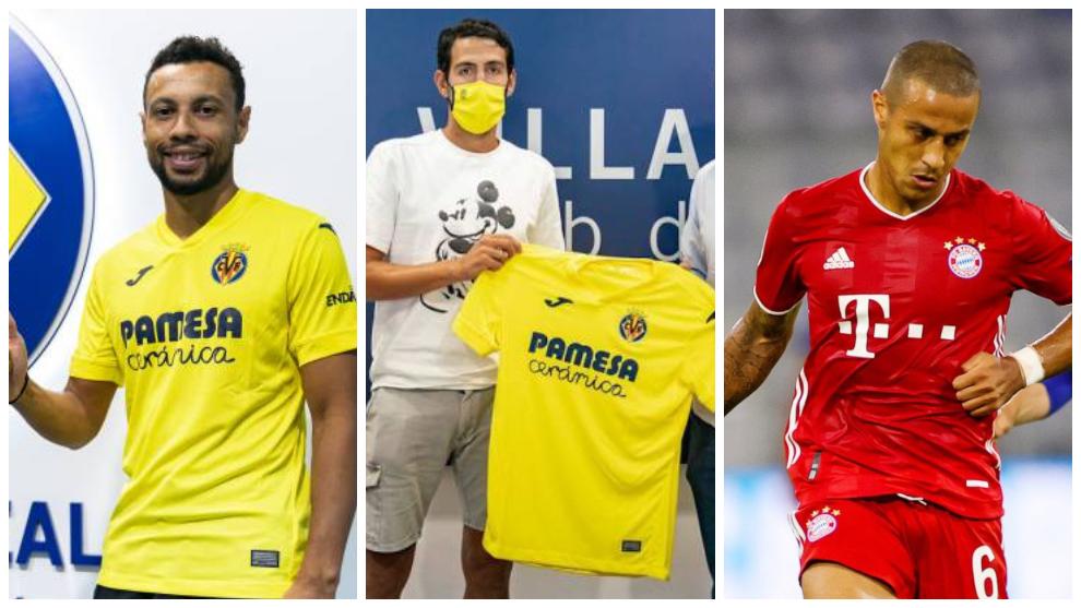 El mercado de fichajes de hoy, en directo: Coquelin y Parejo al Villarreal, ¿Rodrigo el siguiente en salir?, Thiago Alcantara se aleja del Liverpool...