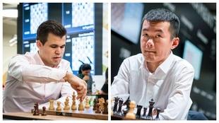 Carlsen y Ding