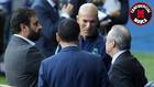 José Ángel Sánchez, Zidane y Florentino, en París