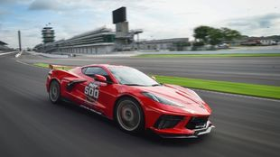Chevrolet Corvette C8 Stingray Pace Car Indy 500 2020