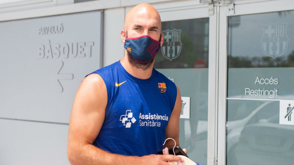 """Calathes y sus primeros días en el Barça: """"Jasikevicius nos transmite toda su energía"""""""