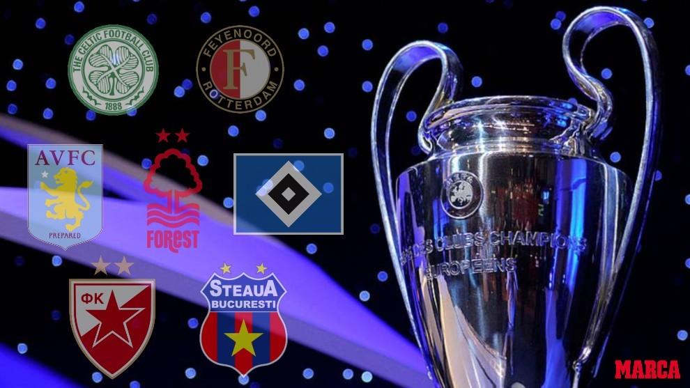 Los equipos que no recuerdas que habían ganado la UEFA Champions League