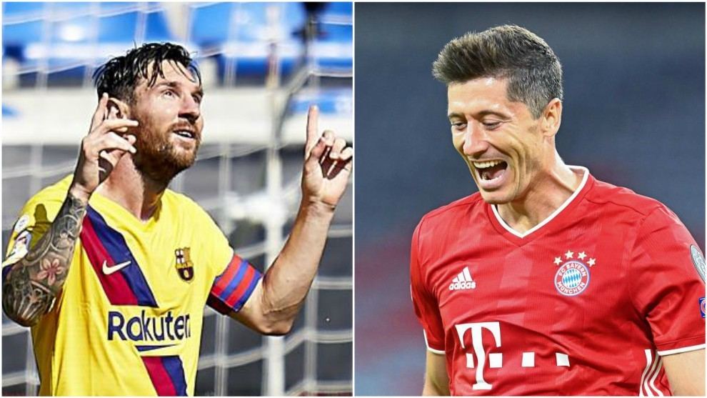 Messi vs Lewandowski: a golazo limpio