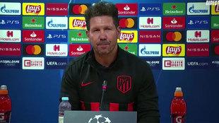 """Simeone: """"No es importante ganar, sino que es lo único que hay"""""""