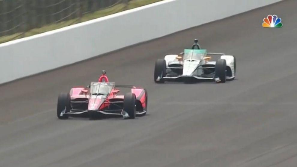Álex Palou y Fernando Alonso Indy 500 2020
