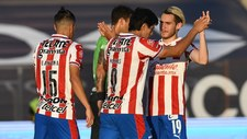 Chivas marca su primer gol del torneo.
