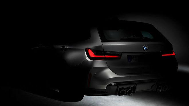 Así será la parte trasera del BMW M3 Touring.