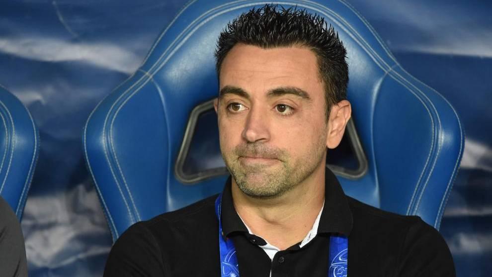 Xavi Hernández, en el banquillo como técnico del Al Sadd catarí