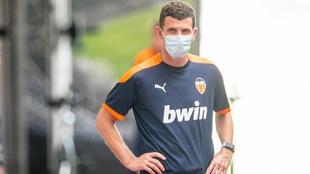 Gracia trata de recuperar la normalidad en el vestuario del Valencia