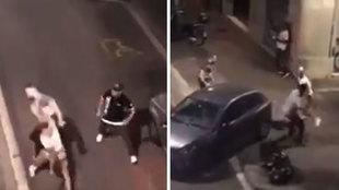 Un boxeador amateur se enfrenta a dos mossos en Barcelona, les tumba... ¡pero llegan refuerzos!