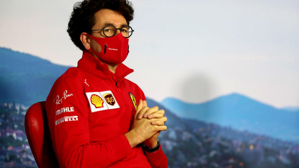 Mattia Binotto, 'capo' de Ferrari.