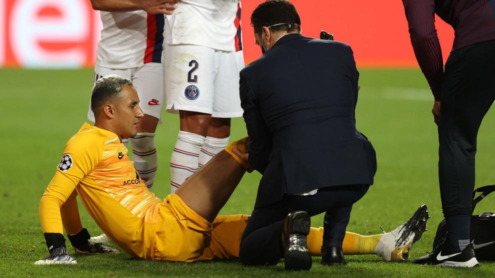 PSG uncertain over Keylor Navas' fitness for Champions League semi final