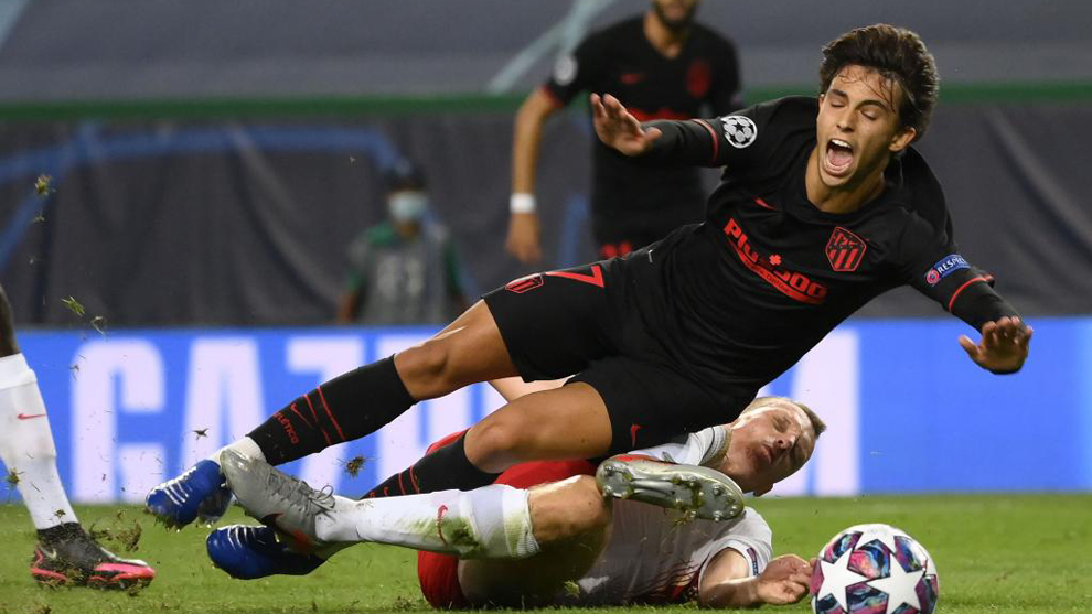 Uno a uno del Atlético contra el Leipzig: Joao Félix no fue suficiente