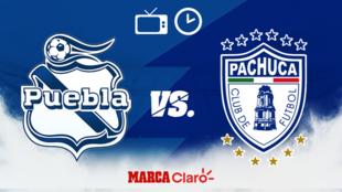 Puebla vs Pachuca: Horario y dónde ver el partido.