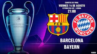 Espera otra gran noche de Champions: Un tapado llamado Barça