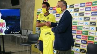"""Parejo: """"El Villarreal es un grande de España, el mejor sitio en el que podía estar"""""""