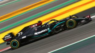 Valtteri Bottas, durante los entrenamientos Libres 1 del GP de...