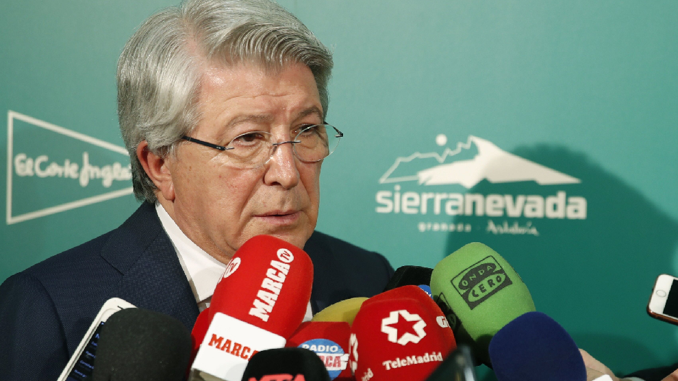 Cerezo: Whoever discusses Simeone's line-ups should buy a team and do it themselves