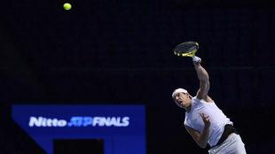 Rafa Nadal, en las ATPF Finals del año pasado en Londres.