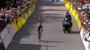 Davide Formolo, vencedor de la etapa 3 de Critérium del Dauphiné