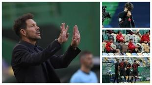 ¿No daba para más? Joao Félix y Morata suplentes, Vitolo y Lemar ni un minuto...