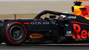 Max Verstappen, durante los Libres 2 del Gran Premio de España.