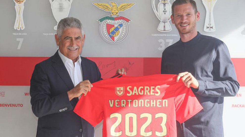 Vertonghen firma tres temporadas por el Benfica y Cavani cerca del sí definitivo