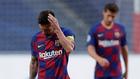 Lionel Messi, en el duelo ante el Bayern Munich.
