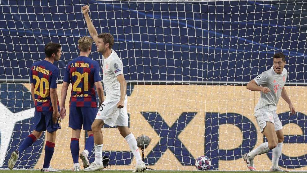 Barcelona - Bayern: reacciones tras la debacle azulgrana en Lisboa