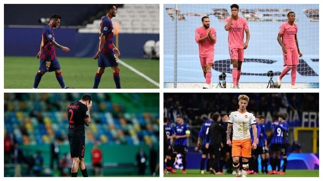 La crisis del fútbol español: sin semifinalistas en Champions 13 años después