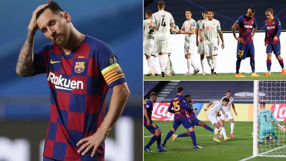 Humillación para la historia: ¡2-8 del Bayern al Barça!