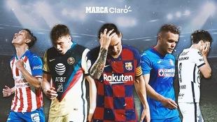 América, Chivas, Cruz Azul y Pumas, como Leo Messi y el Barcelona.