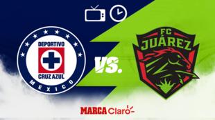 Cruz Azul vs FC Juárez: Horario y dónde ver en vivo.