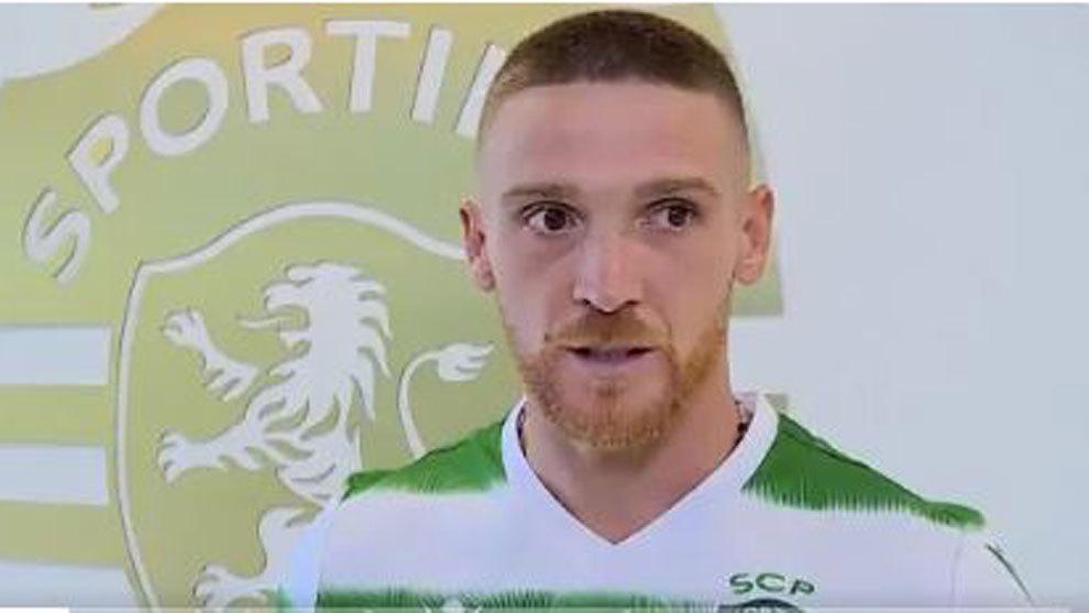 Antunes, nuevo jugador del Sporting de Portugal