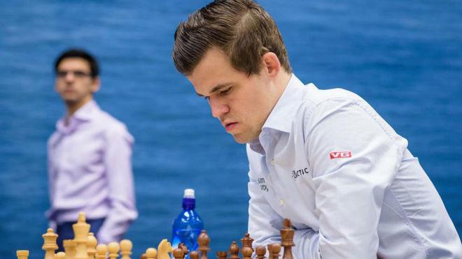 Magnus Carlsen, en un torneo.