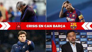El Barça en crisis: así ha sido el día después de la derrota más dura