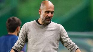"""Guardiola: """"En Champions no se pueden cometer errores"""""""
