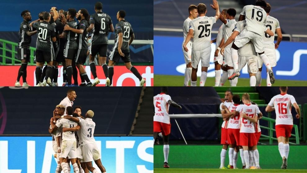 ¡Histórico! Unas semifinales sin españoles, italianos ni ingleses