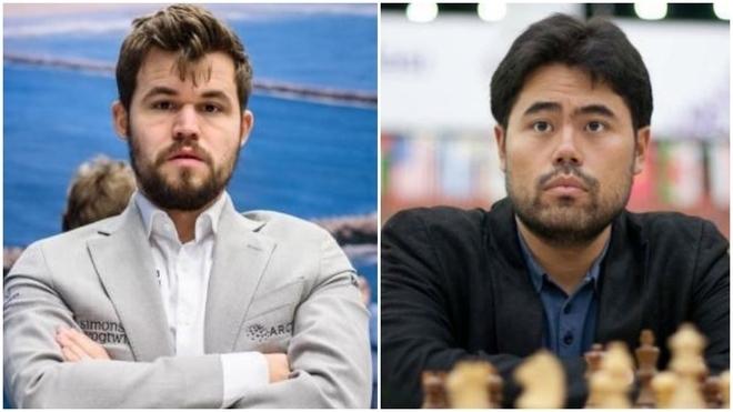 Carlsen y Nakamura.