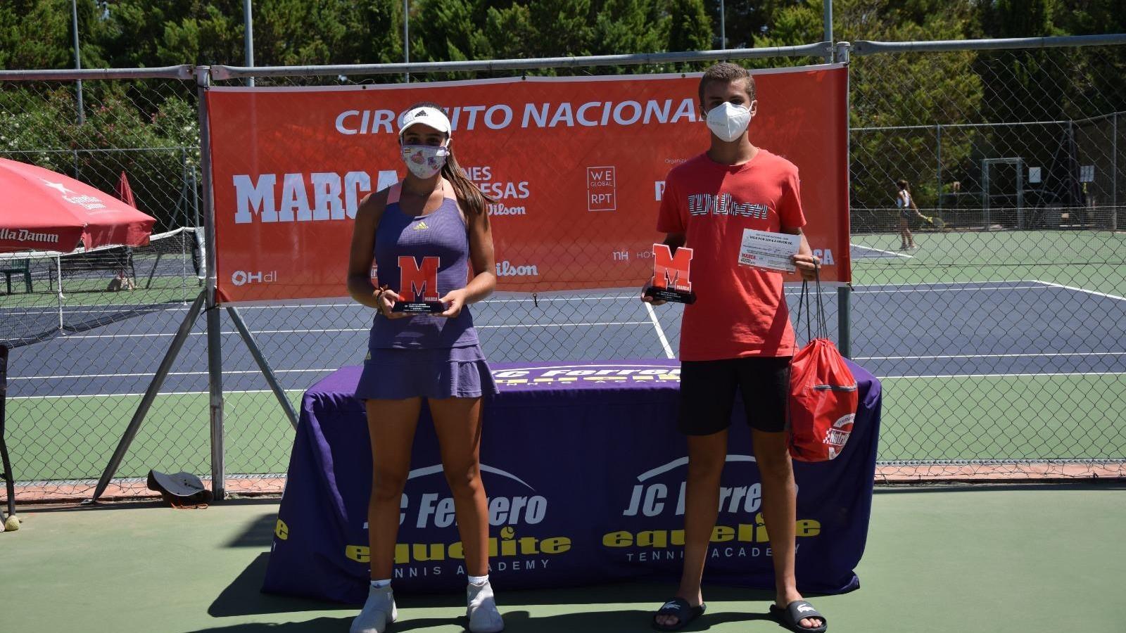 Rafael Segado y Carolina Gómez ganan el MARCA Promesas de Equelite