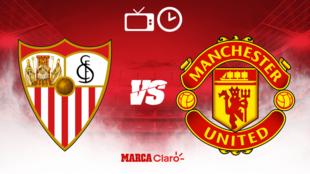 Sevilla vs Manchester United: Horario y dónde ver.