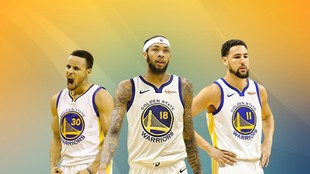 Curry, Ingram y Thompson formarín un tridente exterior temible en los...