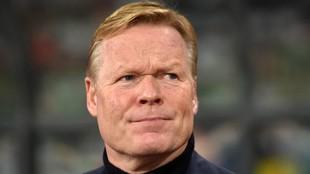 Ronald Koeman podría ser el nuevo entrenador del Barcelona.