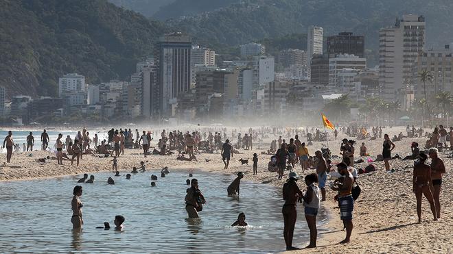 Brasil es el país con más personas contagiadas de coronavirus en...