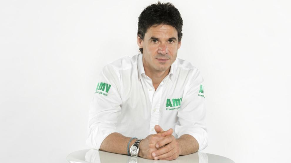Álex Crivillé, embajador de AMV Seguros.