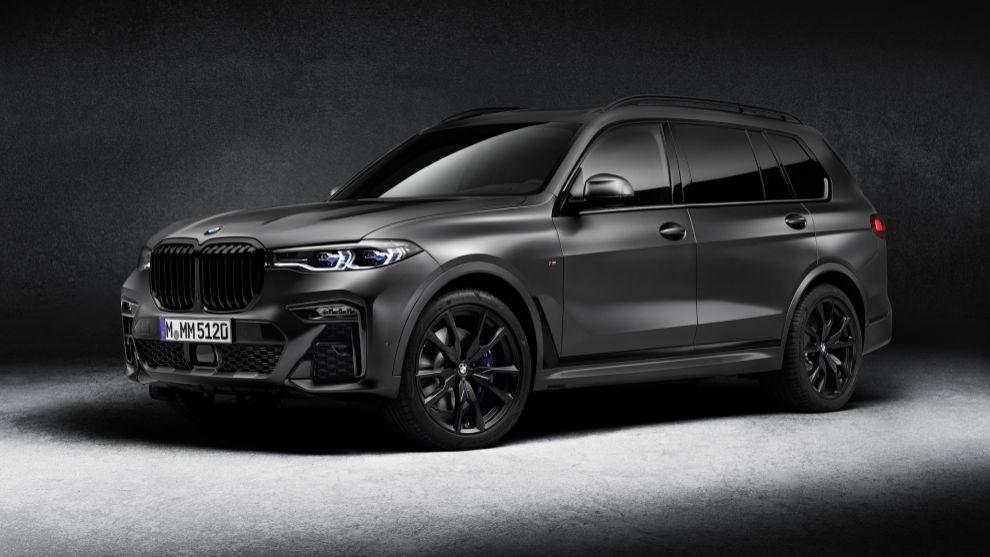 BMW X7 Edition Dark Shadow: el caballero oscuro de los SUV de lujo
