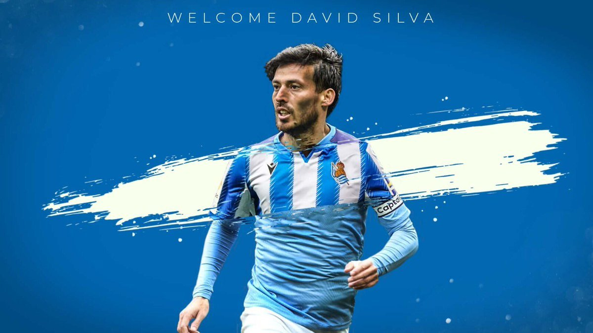 Real Sociedad sign David Silva