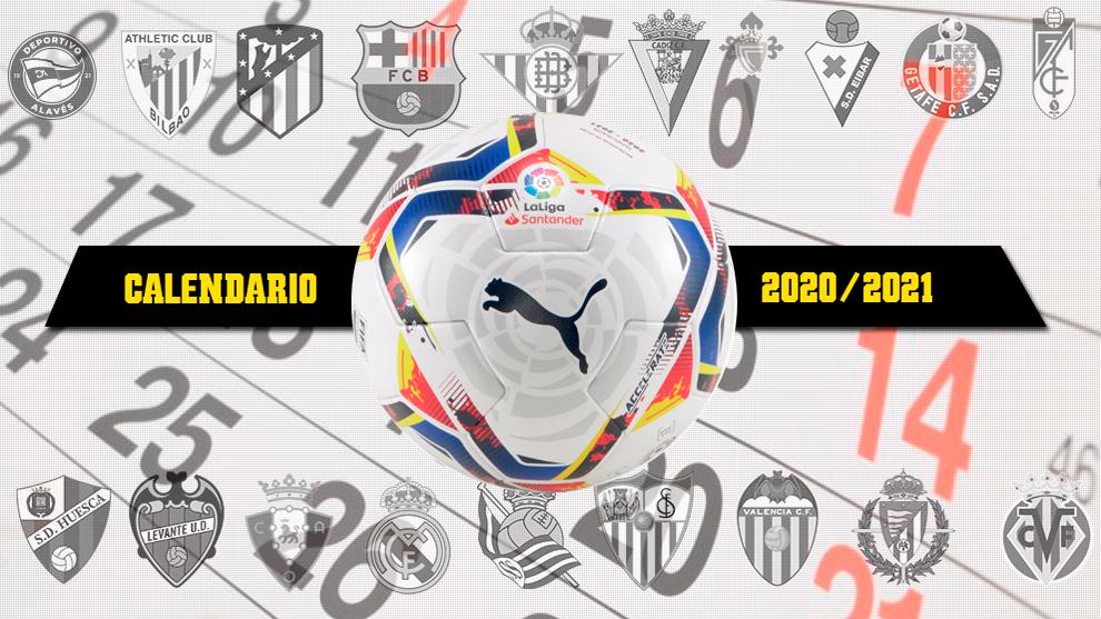 El calendario de la próxima Liga empezará el 12 de septiembre