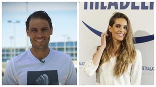 Rafa Nadal y Ona Carbonell.