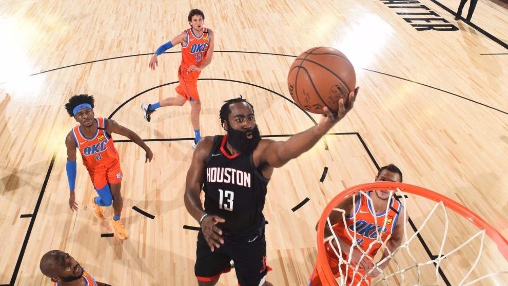 El Thunder reacciona y nivela su serie con los Rockets